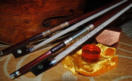 золотая скрипичная канифоль Laubach смычки скрипичные